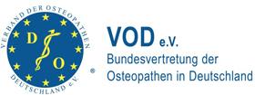 VOD e.V. Bundesvertretung der Osteopathen in Deutschland Logo